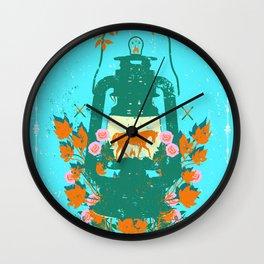 HORSE LANTERN Wall Clock