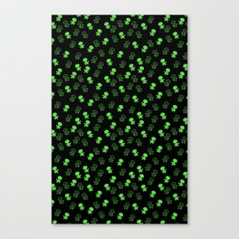 Aliens-Green Canvas Print