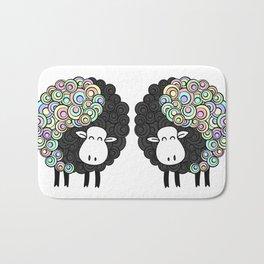 Yin Yang Sheep Bath Mat