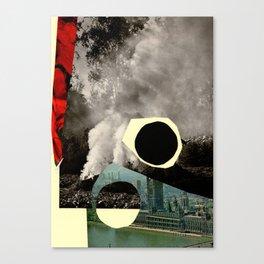 BLACKCIRCLE Canvas Print
