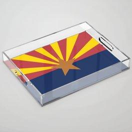 Flag of Arizona Acrylic Tray
