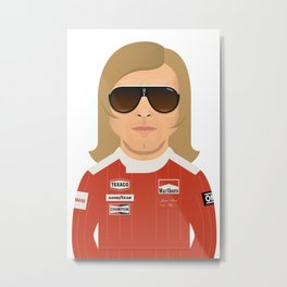 James Hunt Metal Print