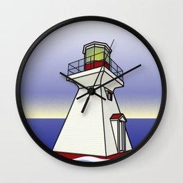 Lighthouse Sea Scene Wall Clock