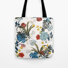 Tropical pattern Tote Bag