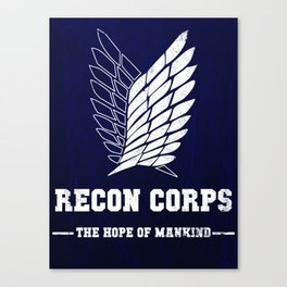 Recon Corps Canvas Print