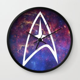 The Final Frontier II Wall Clock
