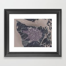 Olympic Peninsula Framed Art Print