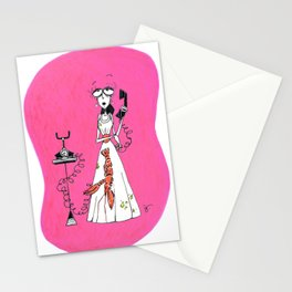 Schiaparelli's lobster dress Stationery Cards