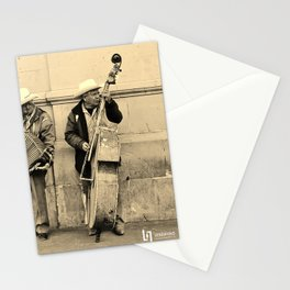 Los Musicos Stationery Cards