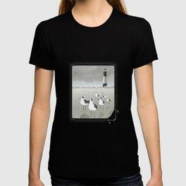 Seagulls Lighthouse T-shirt