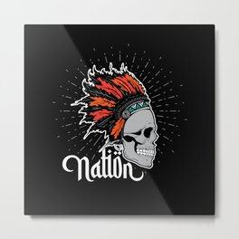 Native American Nation Metal Print