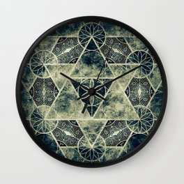 Sacred Geometry for your daily life -  Platonic Solids - IGNIS Wall Clock