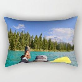 bow river, 2017 Rectangular Pillow