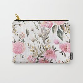 Roses and Wild Flowers Carry-All Pouch