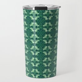 Nano Royal Floral Mandala Print Travel Mug