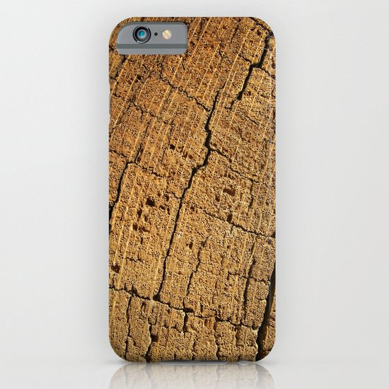 old oak wood I iPhone & iPod Case