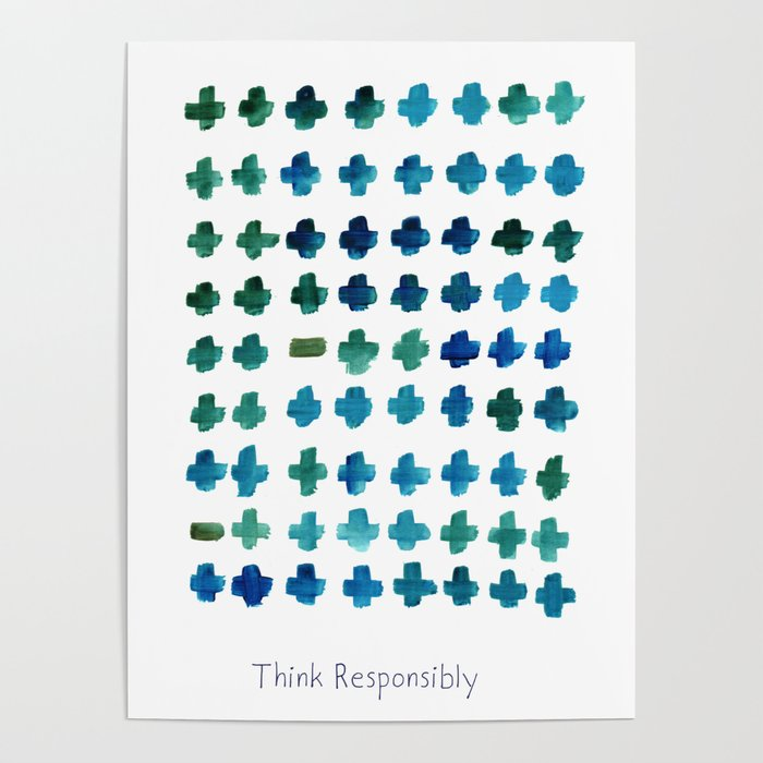Think Responsibly Poster