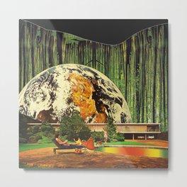 Earth house  Metal Print