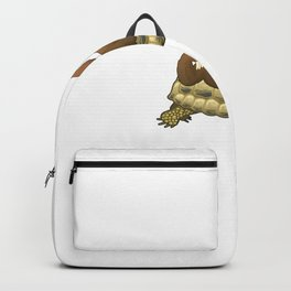 Cute and Funny Adorable Sloth and Turtle Backpack