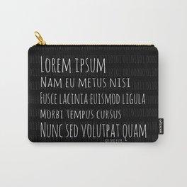 Lorem Ipsum Carry-All Pouch