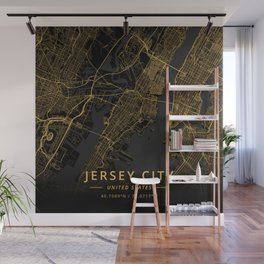 Jersey City, United States - Gold Wall Mural