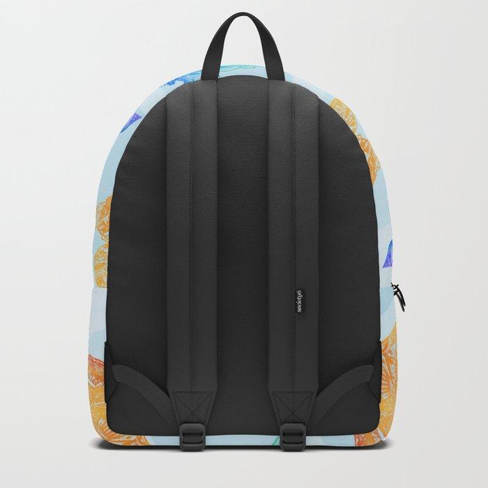 Marine Pattern 10 Backpack