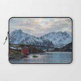 Lofoten winter Laptop Sleeve