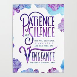 PATIENCE AND SILENCE Poster
