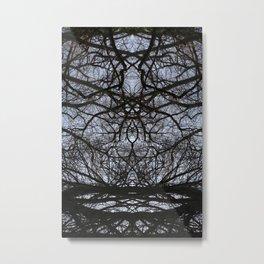 Tree figure Metal Print