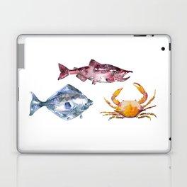Alaska Marine Life Laptop & iPad Skin