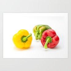 Mixed Peppers 1 Art Print
