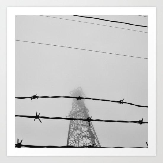 prison planet Art Print