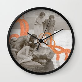 Doris' Daughters and the Kraken Wall Clock