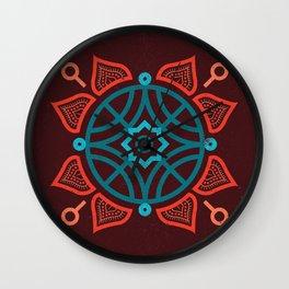 Playful Mandalas Wall Clock
