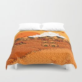 The  Golden  Years  of  Our  Lives Duvet Cover