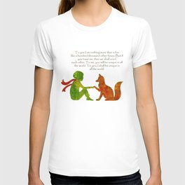 Little Prince Quote T-shirt