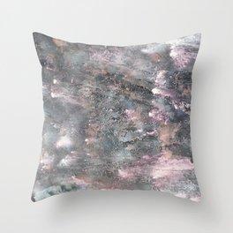 Summer Meteors Throw Pillow