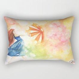 Dancing in the Wind Rectangular Pillow