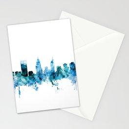 Perth Australia Skyline Stationery Cards