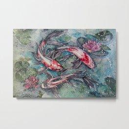Harmony (Watercolor Painting) Metal Print