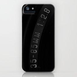 35-85mm iPhone Case