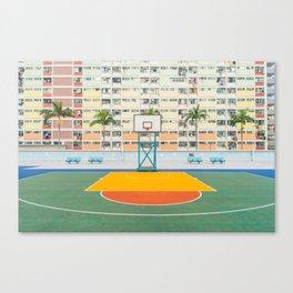 BASKETBALL COURT Canvas Print