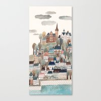 scotland Canvas Prints featuring Scotland by Gemma Capdevila