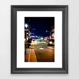 In The Streets Framed Art Print