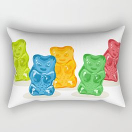 Gummy Bears Gang Rectangular Pillow