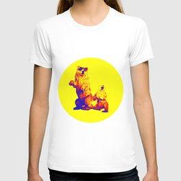 Ours Republique yellow T-shirt