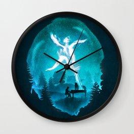 Summoning the Muse Wall Clock