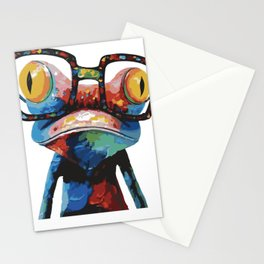 frog art  Stationery Cards