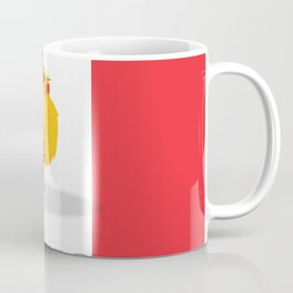 France cockerel travel poster Coffee Mug