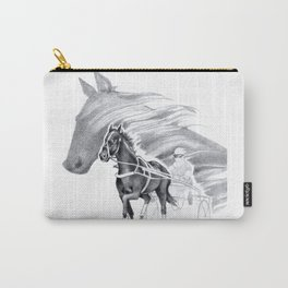 Trotting Up A Storm Carry-All Pouch